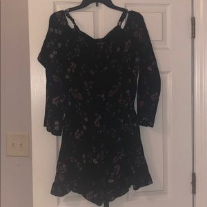 Flora romper with bell sleeves